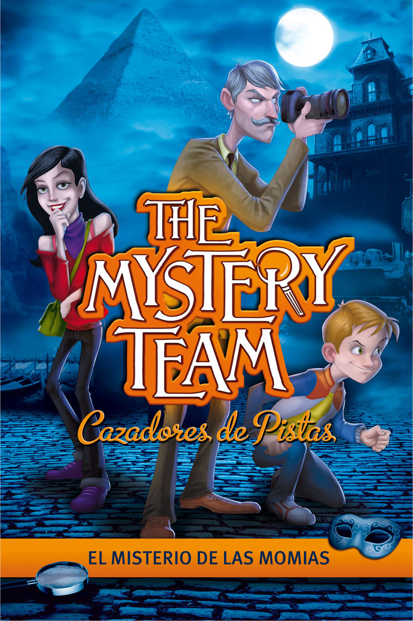 """Modeling, Rigging, Shading, Rendering ( PSP Game """"The Mystery Team"""" ) 3"""