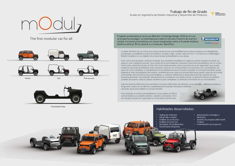mOdul - The first modular car for all 0