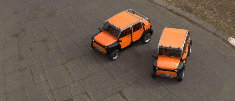 mOdul - The first modular car for all 3