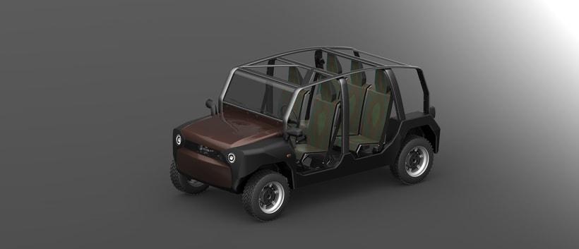 mOdul - The first modular car for all 4