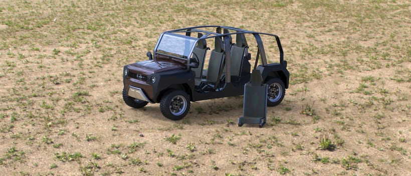 mOdul - The first modular car for all 5