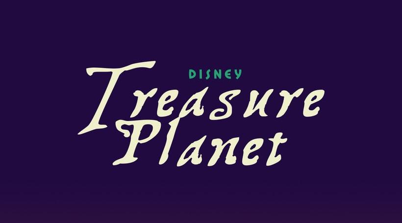 Treasure Planet - Póster alternativo -1