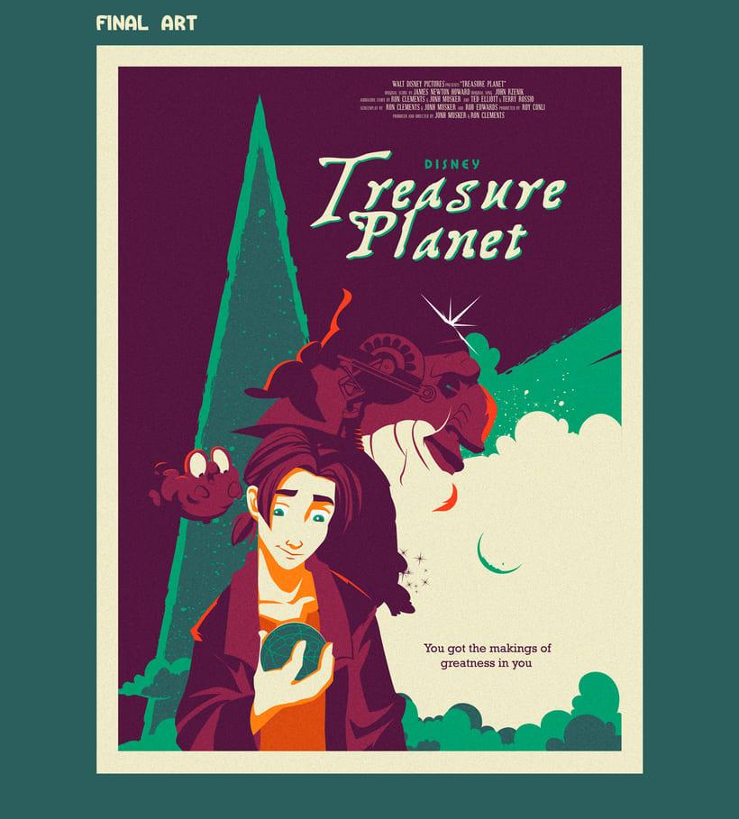 Treasure Planet - Póster alternativo 2
