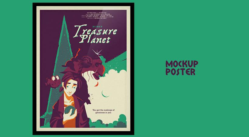 Treasure Planet - Póster alternativo 3