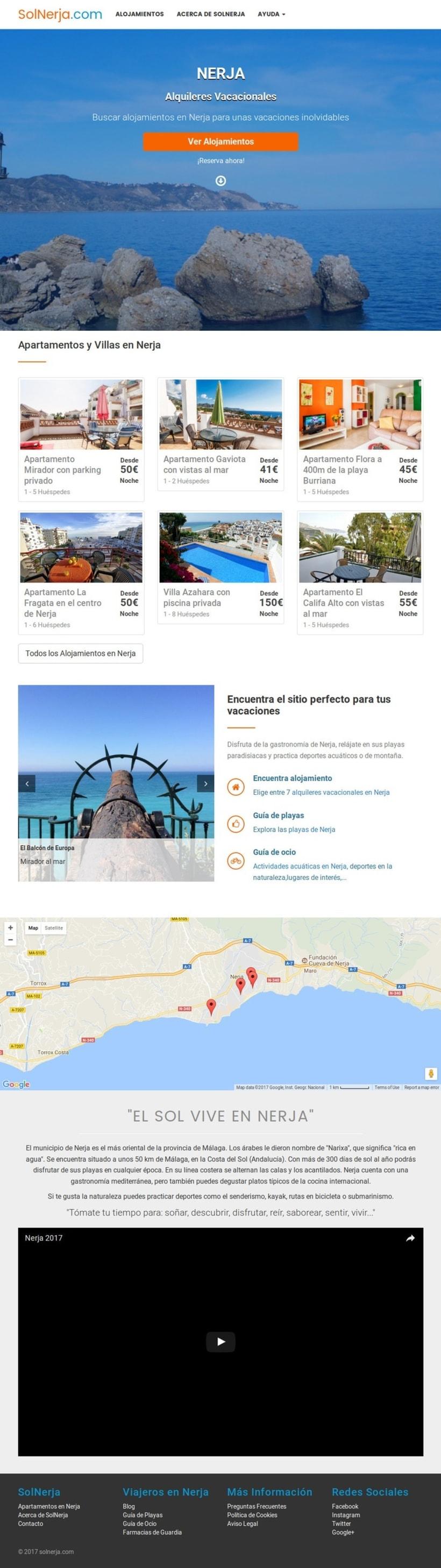 Alquiler de vacaciones en Nerja - Solnerja.com -1