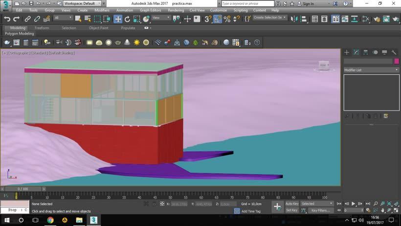 Proyecto del curso: Representación de espacios arquitectónicos con 3D Studio Max 0