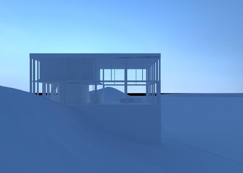 Proyecto del curso: Representación de espacios arquitectónicos con 3D Studio Max 1