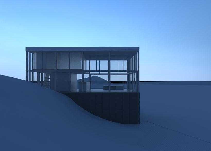 Proyecto del curso: Representación de espacios arquitectónicos con 3D Studio Max 2