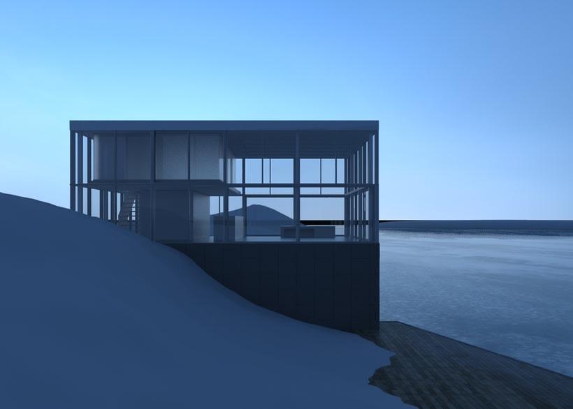 Proyecto del curso: Representación de espacios arquitectónicos con 3D Studio Max 3