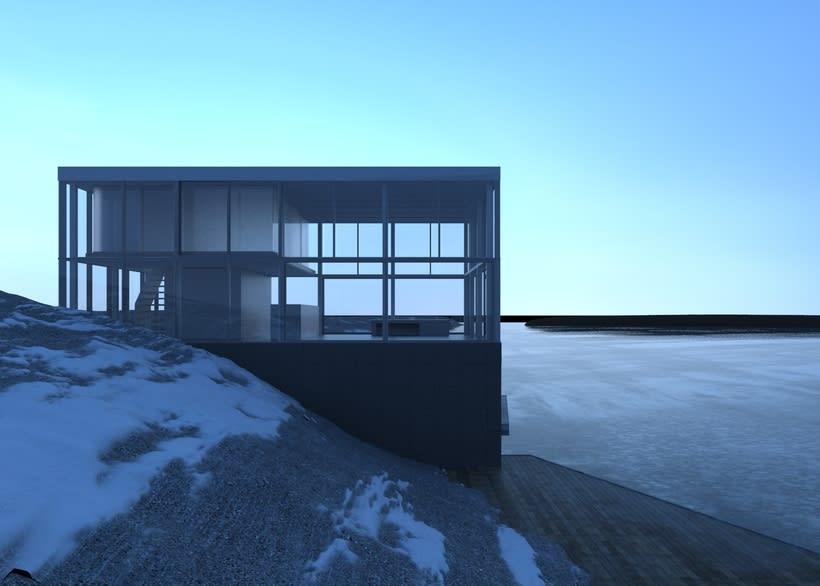 Proyecto del curso: Representación de espacios arquitectónicos con 3D Studio Max 4