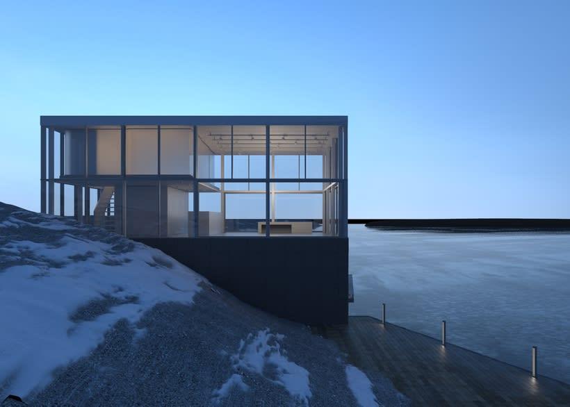 Proyecto del curso: Representación de espacios arquitectónicos con 3D Studio Max 5