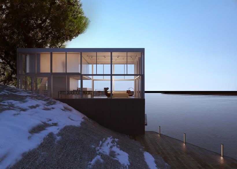 Proyecto del curso: Representación de espacios arquitectónicos con 3D Studio Max 6