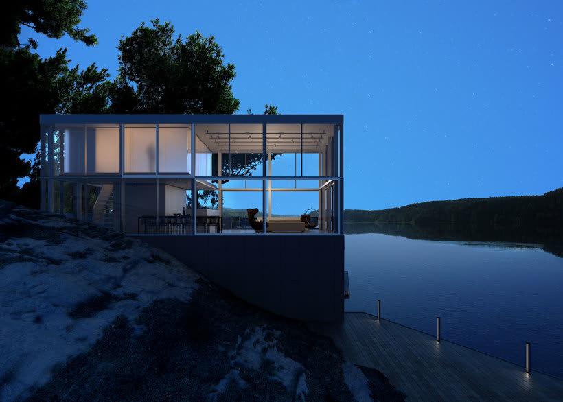 Proyecto del curso: Representación de espacios arquitectónicos con 3D Studio Max 7