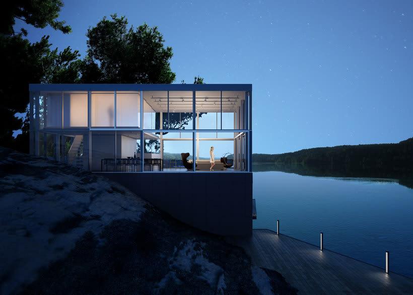 Proyecto del curso: Representación de espacios arquitectónicos con 3D Studio Max 8