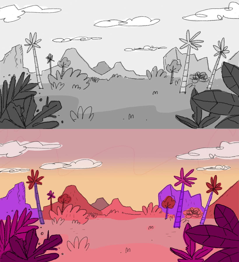 La Extinción: Animación digital 2D 9