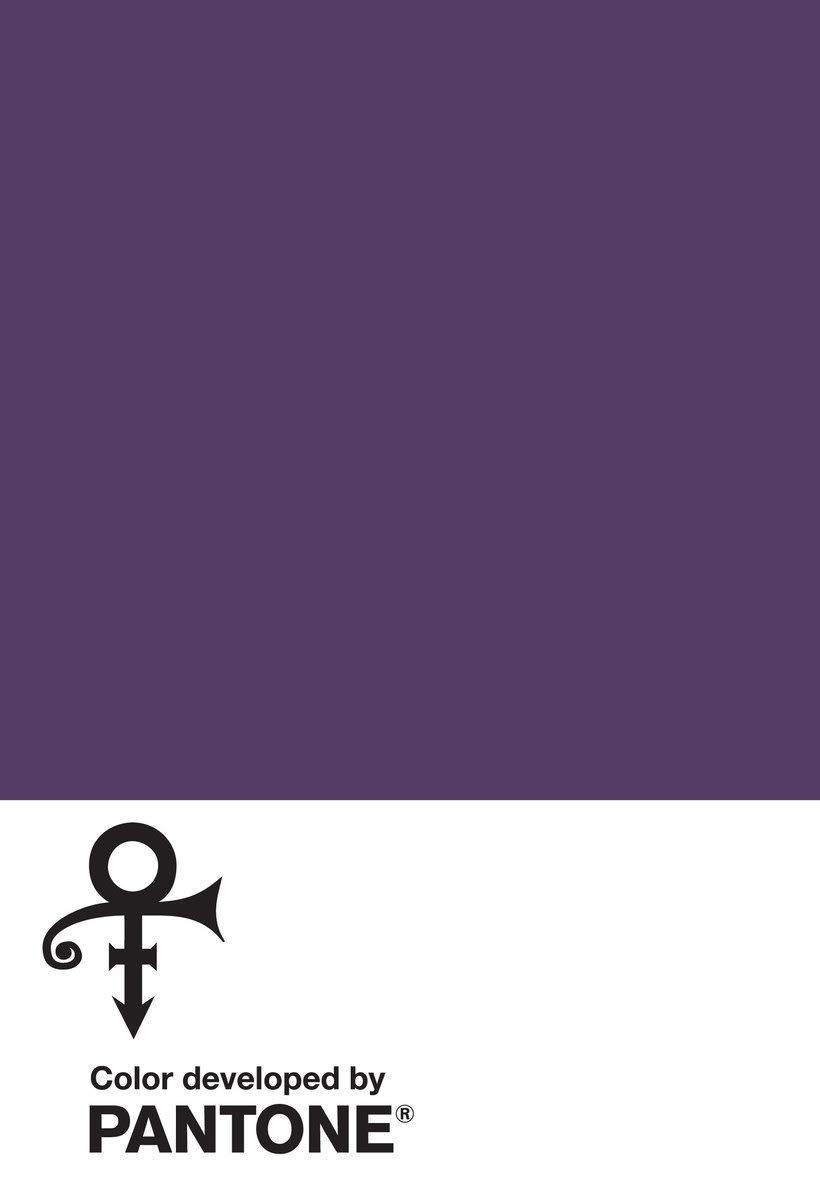 Love Symbol #2, el Pantone oficial de Prince 1