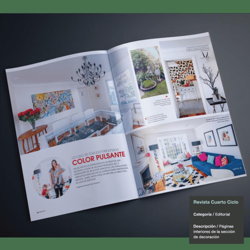 Diseño y Maquetación Revista Cuarto Ciclo -1