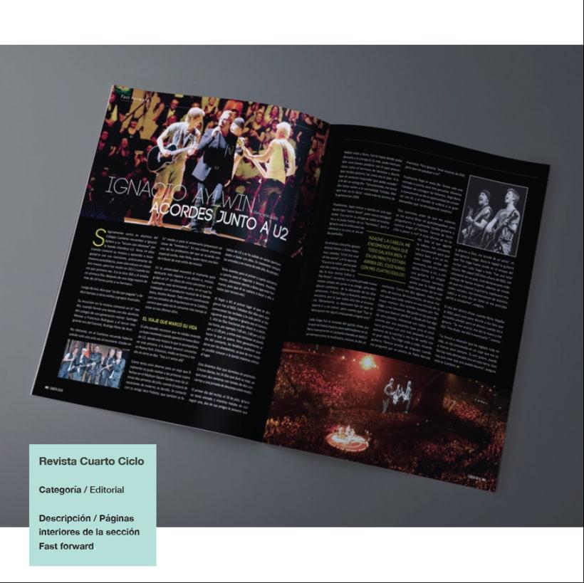 Diseño y Maquetación Revista Cuarto Ciclo 1