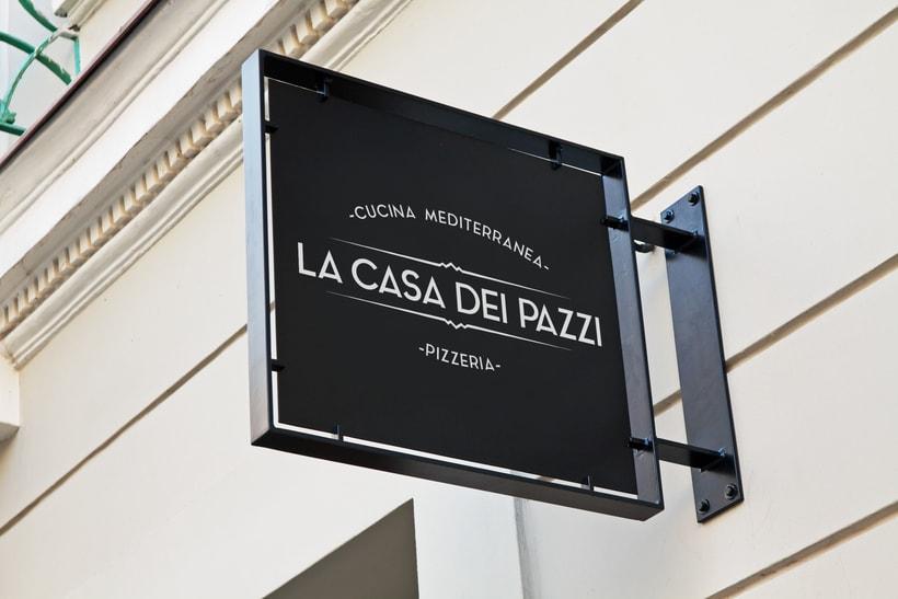 Corporate Image - La Casa dei Pazzi -1