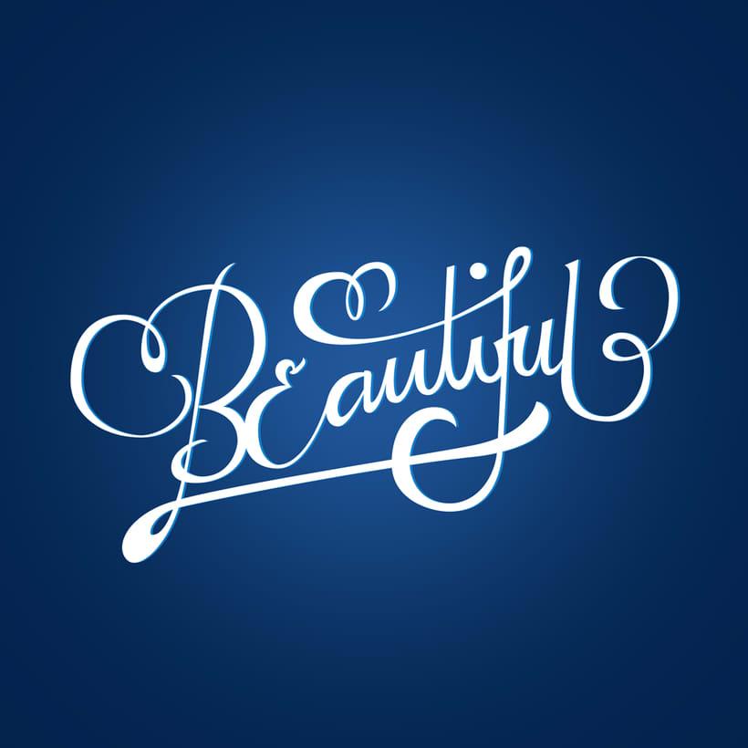Beautiful Lettering | Mi Proyecto del curso: Los secretos dorados del lettering 0