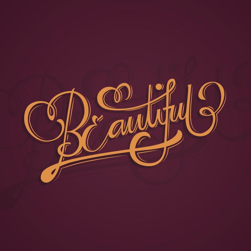 Beautiful Lettering | Mi Proyecto del curso: Los secretos dorados del lettering 2