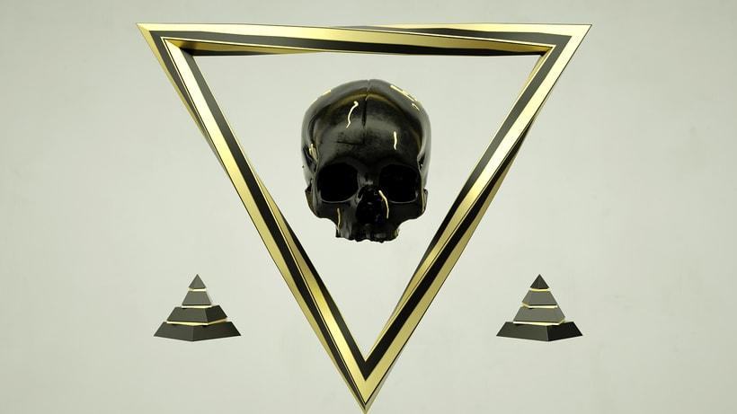 Skull & Droplets  1