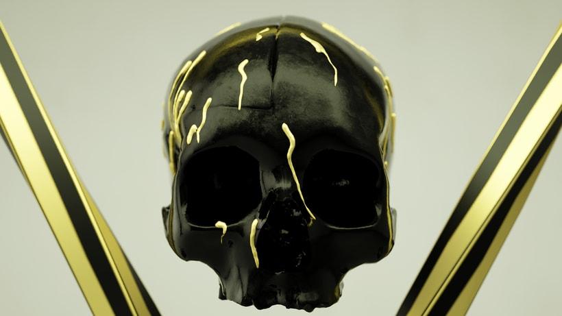 Skull & Droplets  2
