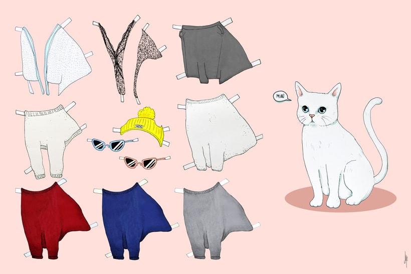 Vestir al gato (proyecto para clase de Nuevas formas publicitarias) 0