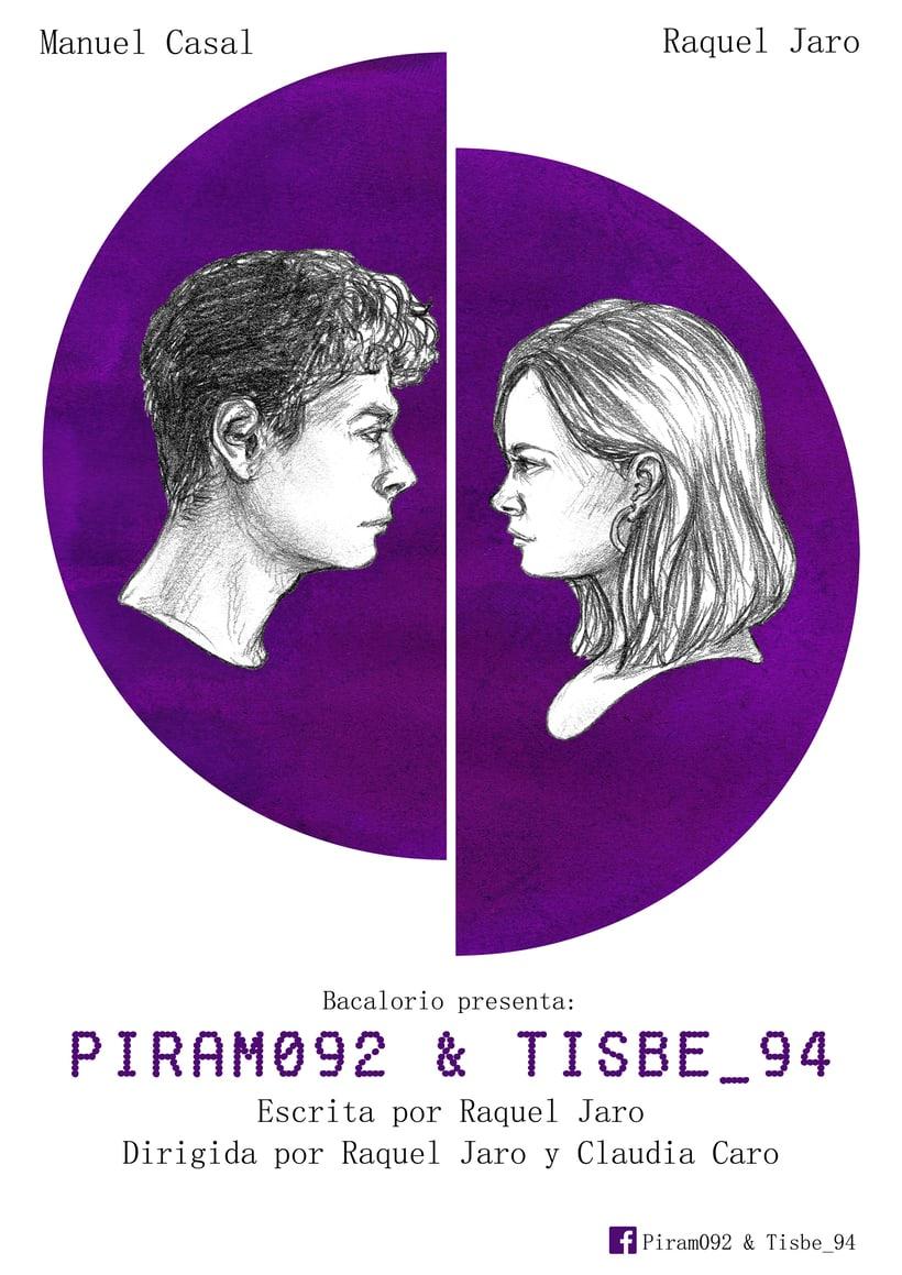 Cartel de la obra 'Píram092 & Tisbe_94' (Raquel Jaro) -1