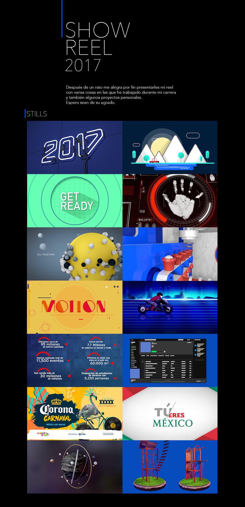 SHOW REEL 2017 -1