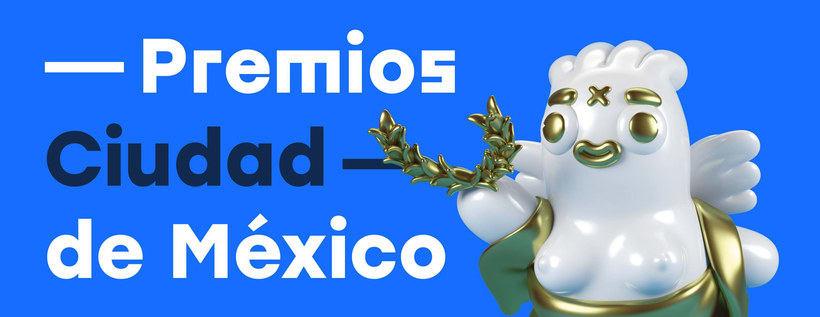 Grand Chamaco diseña la estatuilla del Premio CDMX  1