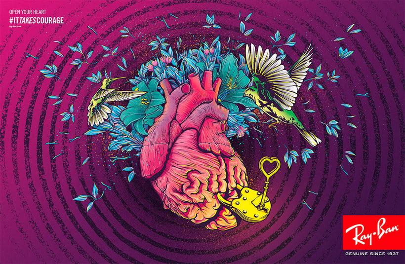 Ilustración vectorial intrépida con Conspiracy Studio 12