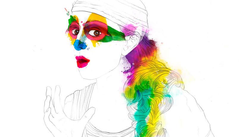 Ilustración vectorial intrépida con Conspiracy Studio 16