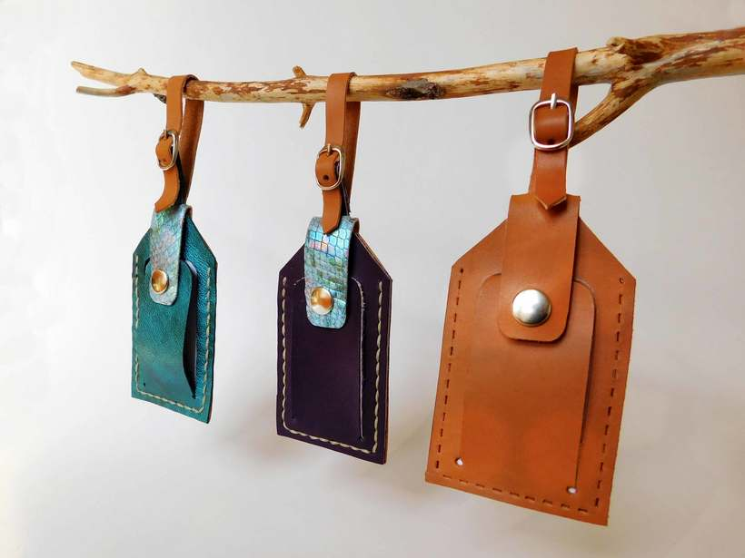 Leather Luggage Tag Packaging 3