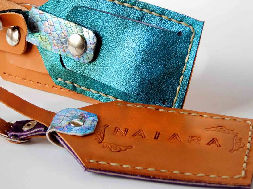 Leather Luggage Tag Packaging 5