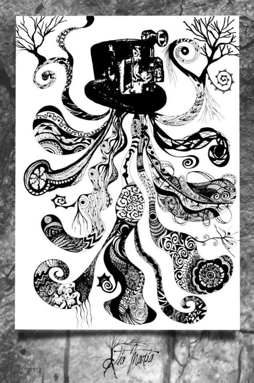 Ilustraciones con tinta 1