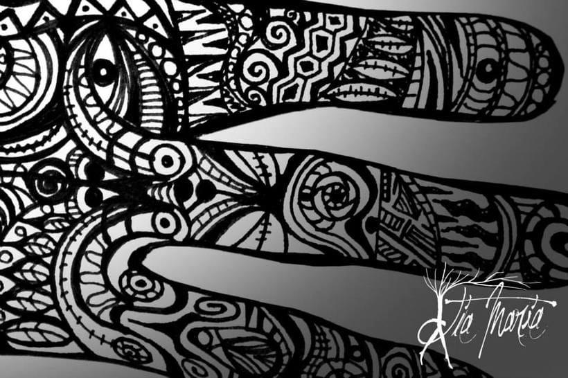 Ilustraciones con tinta 3