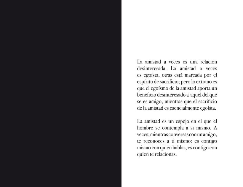 Libro La Amistad 5
