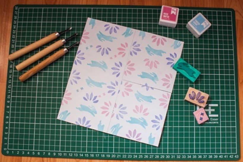 Diseño de estampados textiles - Bunny 0