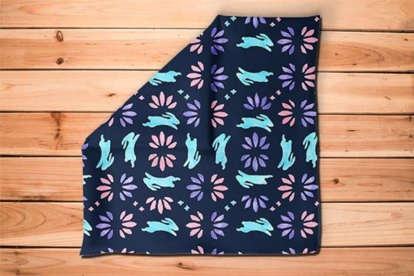 Diseño de estampados textiles - Bunny 2