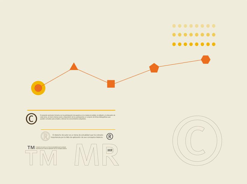 Visual / Seminario Multidisplinado El derecho de Autor en el Ámbito Editorial 1