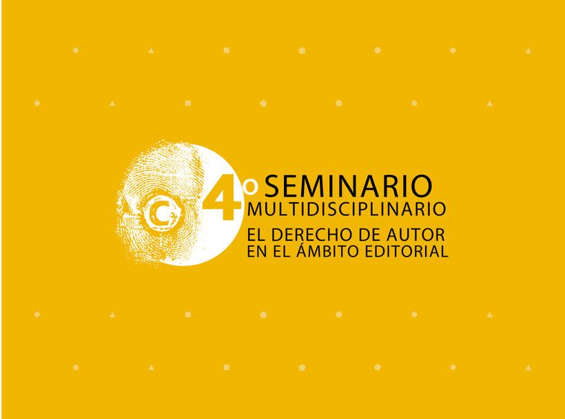 Visual / Seminario Multidisplinado El derecho de Autor en el Ámbito Editorial 7