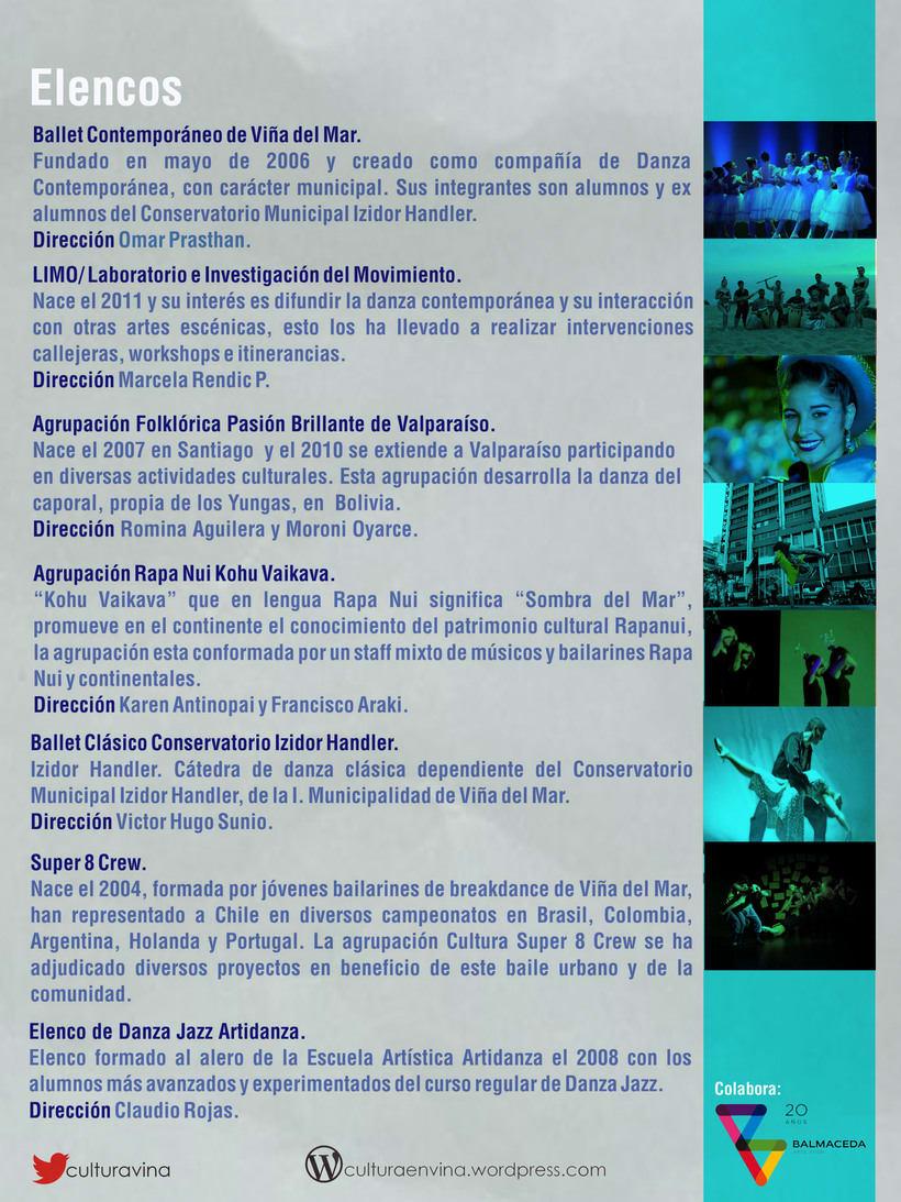 Día de la danza, diseño desarrollado para la Ilustre Municipalidad de Viña del Mar. 0
