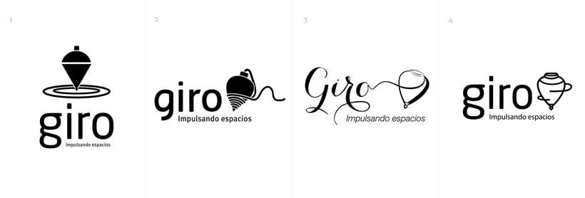 Giro / Impulsando espacios 0