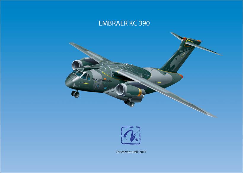 Aviones. Ilustración vectorial. 3