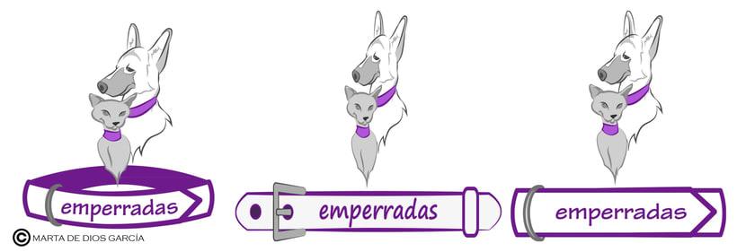 """Logotipo """"Emperradas"""" 1"""
