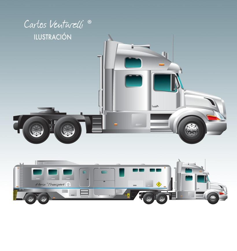 Ilustraciones para Very Horse APP. 2
