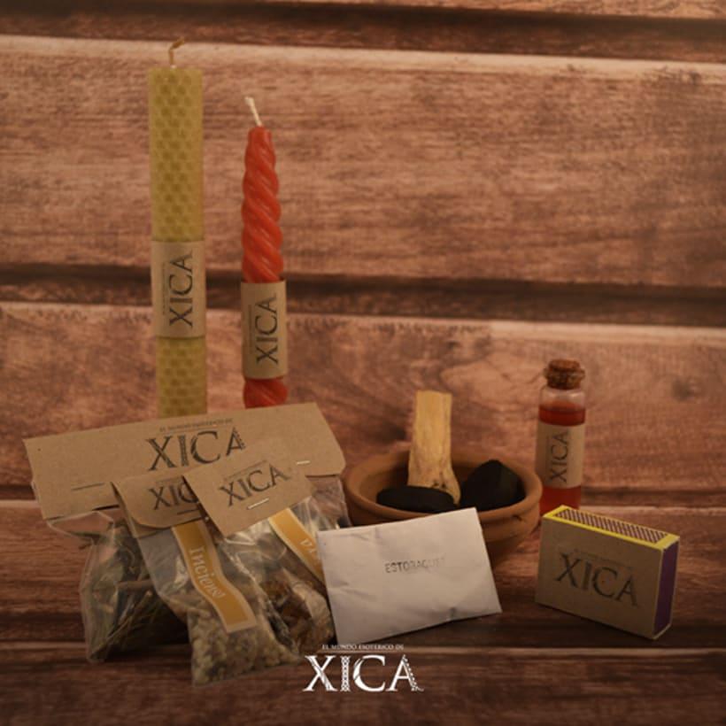 El mundo esotérico de Xica 8