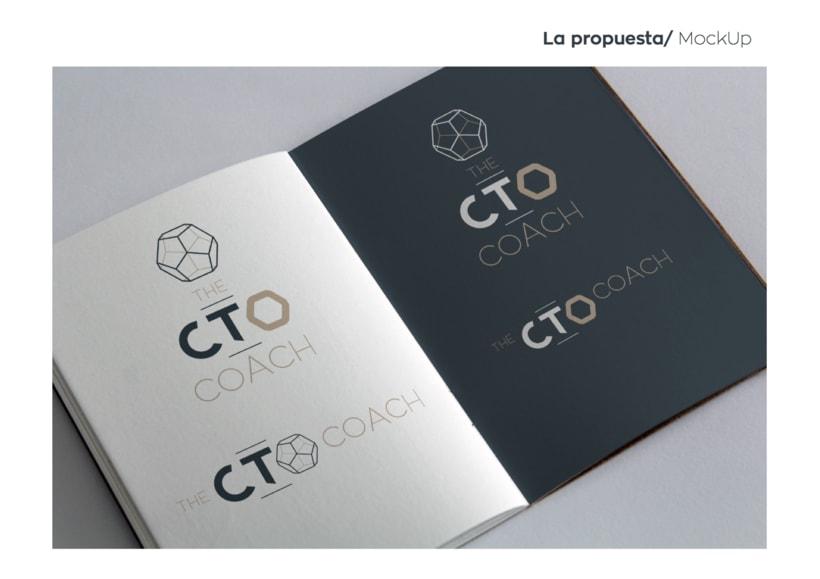 Mi Proyecto del curso: Identidad corporativa bi y tridimensional / The CTO Coach 8