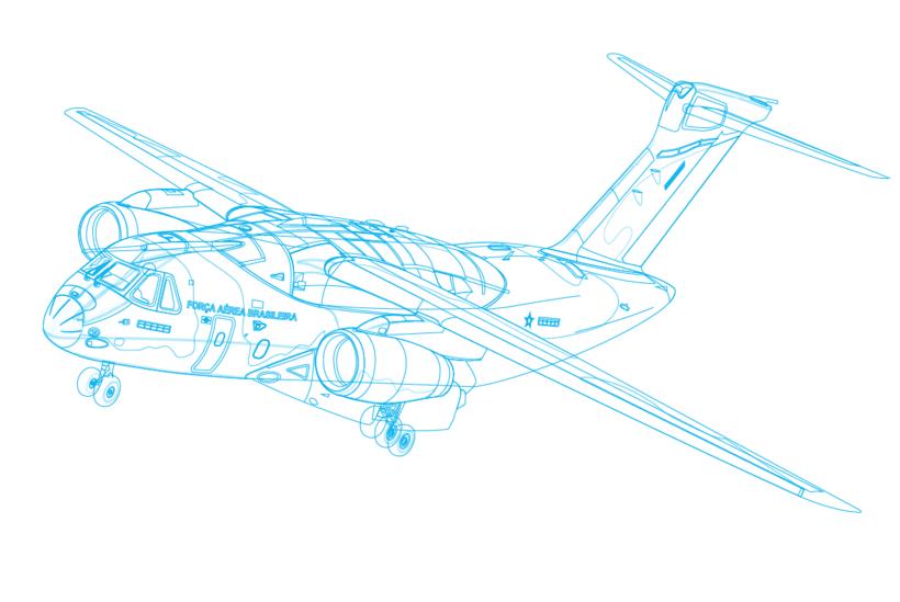 Aviones. Ilustración vectorial. 4